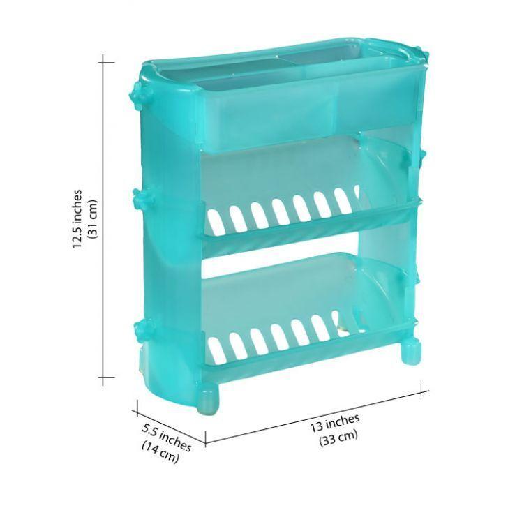 Buy New Plastic Bathroom Shelf Organiser Online   Best Prices in ...