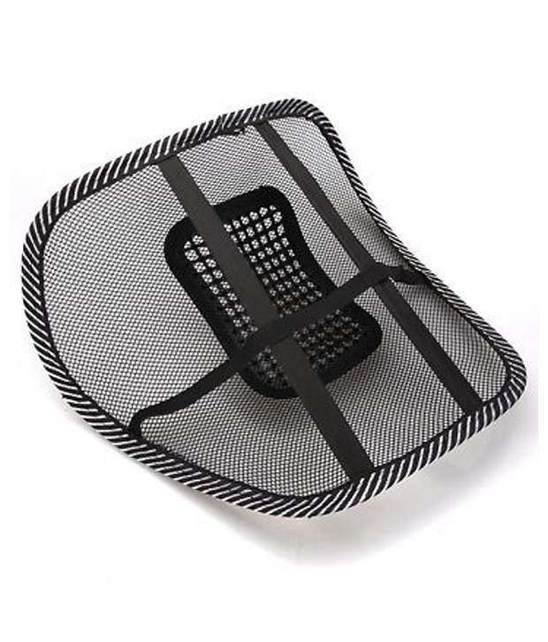 Buy Comfortable Mesh Ventilate Car Seat Office Chair Massage Back Lumbar Support online