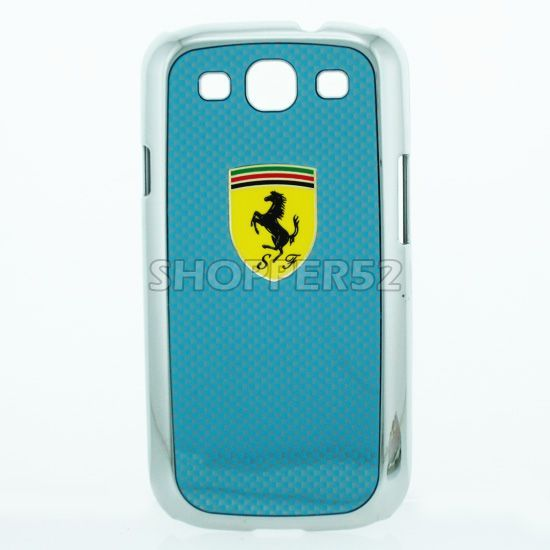 Buy Designer Plastic Back Hard Case For Samsung Galaxy S3 I9003 Blue online
