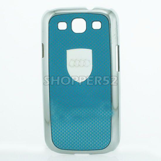 Buy Designer Plastic Back Hard Case For Samsung Galaxy S3 I9003 Blue online