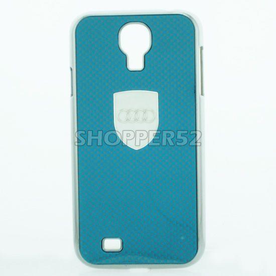 Buy Designer Plastic Back Hard Case For Samsung Galaxy S4 I9005 Grey online