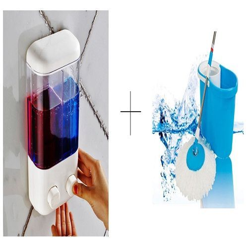 Buy Buy Double Soap Dispenser With Easy Magic Mop - Ddismop online