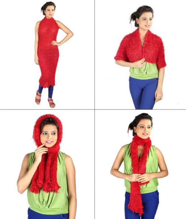 Buy Hawai Red Magical Scarf online