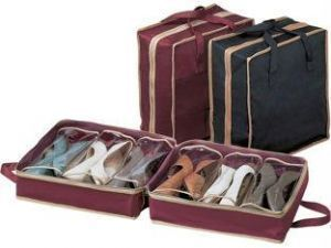 Buy Shoe Tote Ladies Shoes & Clothes Organiser Bag online