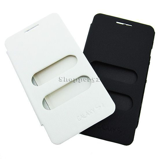 Buy Black Battery Flip Book Cover Table Talk Case For Samsung Galaxy S2 19100 online