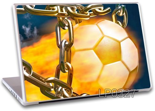 Buy Fire Football Laptop Notebook Skins High Quality Vinyl Skin - Lp327 online