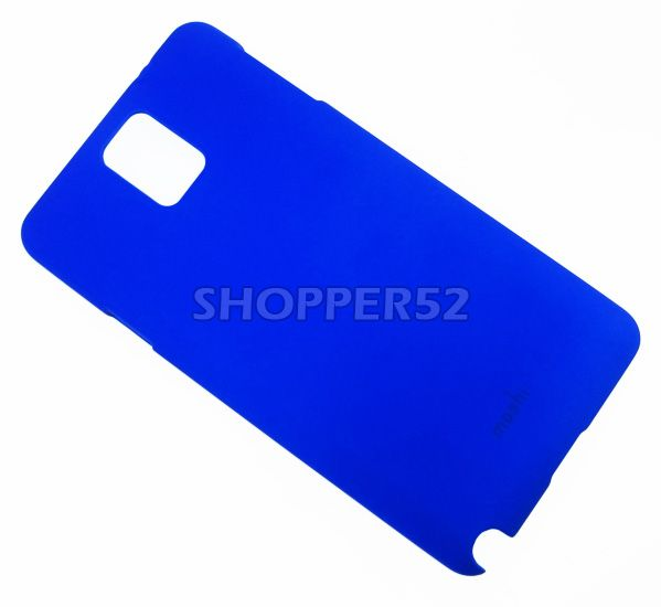 Buy Blue Samsung Galaxy Note 3 N9000 Moshi Matte Plastic Hard Back Case online