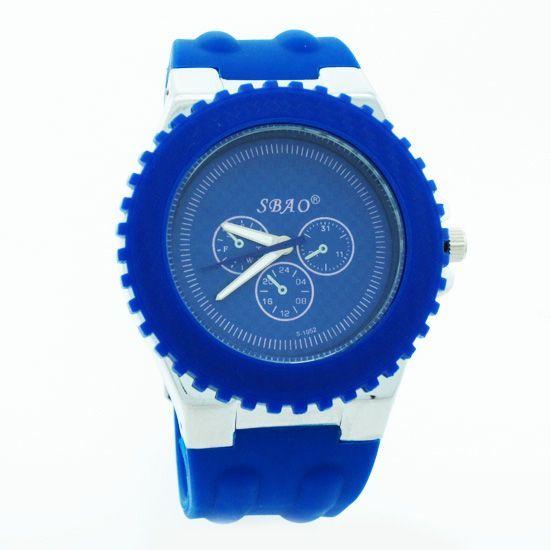 Buy Blue Designer Mens Boys Fiber Wrist Watch online