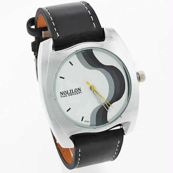 Buy Mens Leather Belt Wrist Watch online