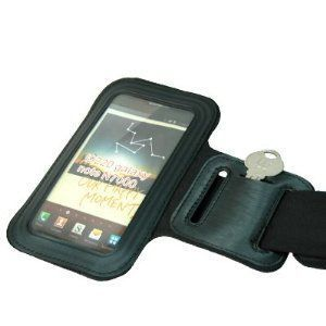 Buy Black Sports Gym Armband For Samsung Galaxy Note N7000 I9220 online