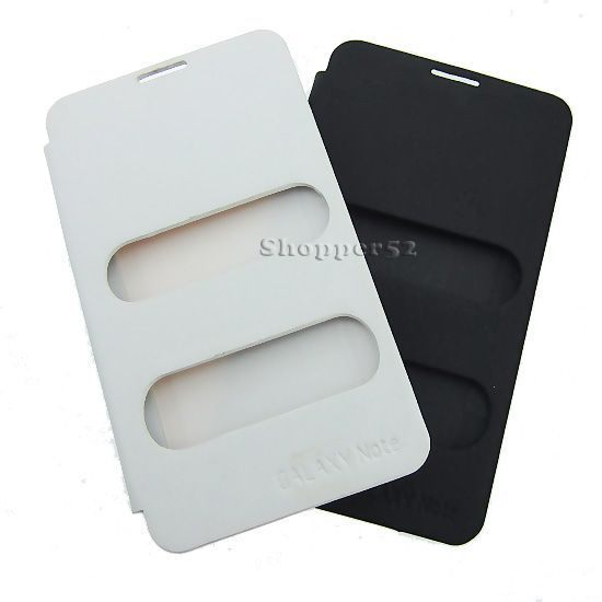 Buy White Table Talk Caller ID Back Case Cover For Samsung Galaxy Note N7000 online