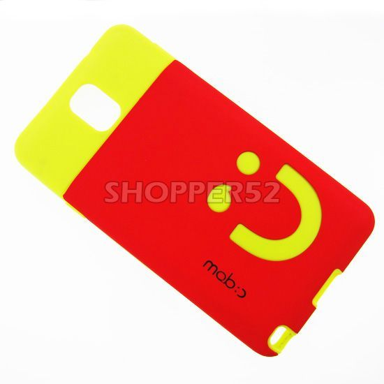 Buy Red Rubber Hard Back Case For Samsung Galaxy Note 3 N9000 online