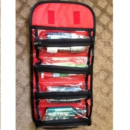 Buy Roll N Go 4 Compartment Cosmetic Box / Jewellery Bag online