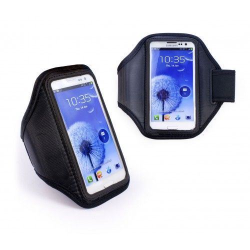 Buy Black Sports Gym Armband For Samsung Galaxy S3 I9300 S III Armband online