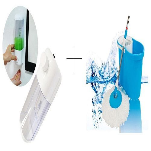 Buy Buy Single Soap Dispenser With Easy Magic Mop - Sdismop online