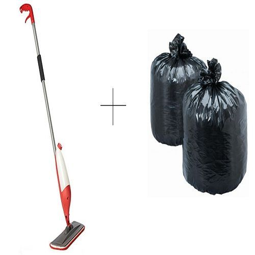 Buy Buy Spray Mop With Free Disposables Garbage Bag 90 Pcs online