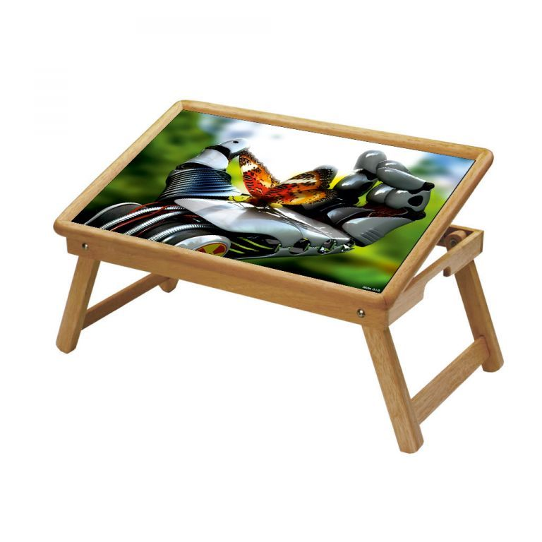 Buy Multipurpose Foldable Wooden Study Table (018) online