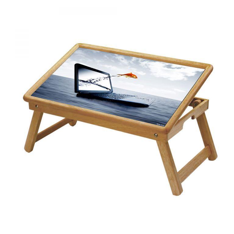 Buy Multipurpose Foldable Wooden Study Table (020) online