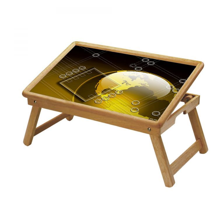 Buy Multipurpose Foldable Wooden Study Table (056) online