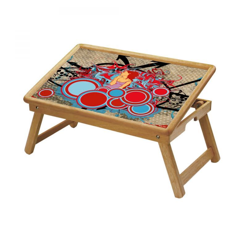 Buy Multipurpose Foldable Wooden Study Table (092) online