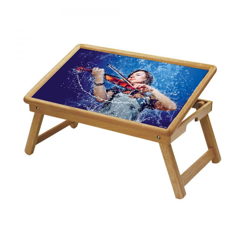 Buy Music Multipurpose Foldable Wooden Study Table For Kids online