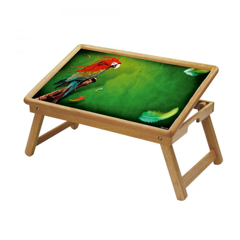 Buy Parrot Multipurpose Foldable Wooden Study Table For Kids online