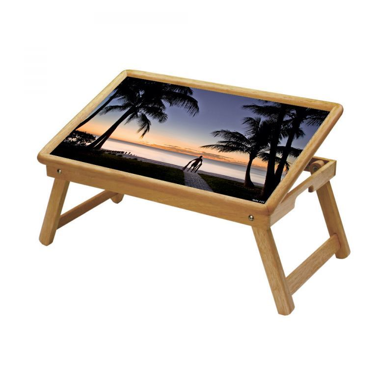Buy Nature Multipurpose Foldable Wooden Study Table For Kids - Study 133 online