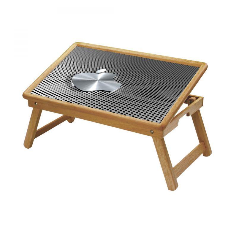 Buy Apple Logo Multipurpose Foldable Wooden Study Table For Kids online