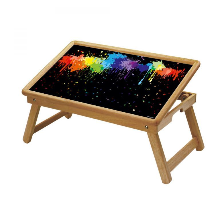 Buy Multipurpose Foldable Wooden Study Table (304) online