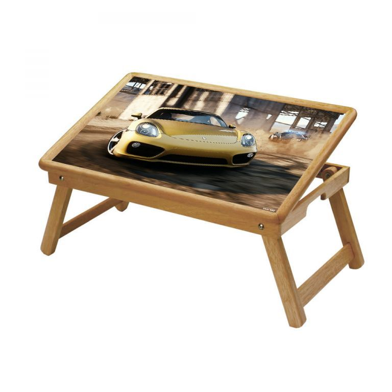 Buy Automobiles Multipurpose Foldable Wooden Study Table For Kids online