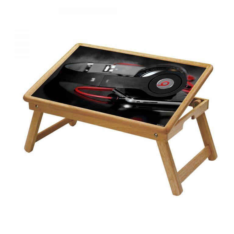 Buy Music Multipurpose Foldable Wooden Study Table For Kids - Study 452 online