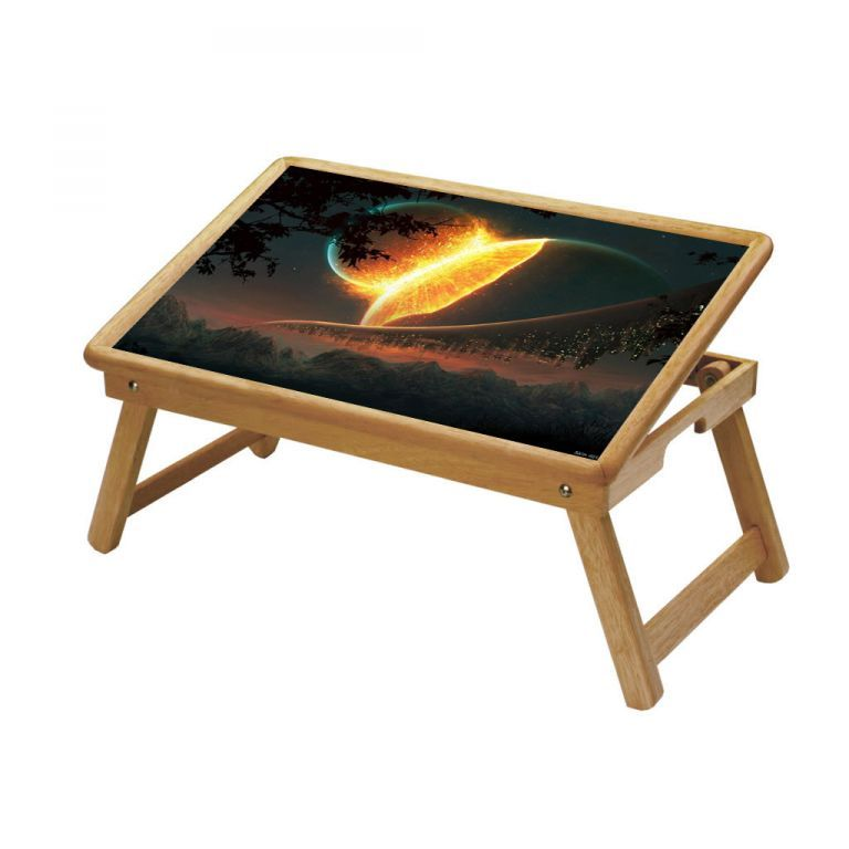 Buy Universe Multipurpose Foldable Wooden Study Table For Kids online
