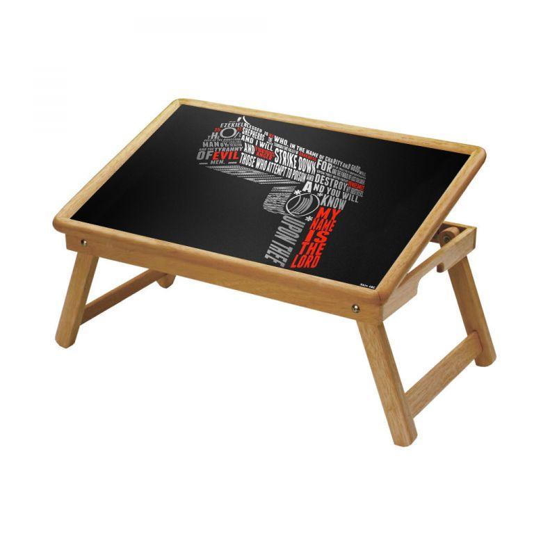 Buy Killer Gun Multipurpose Foldable Wooden Study Table For Kids online