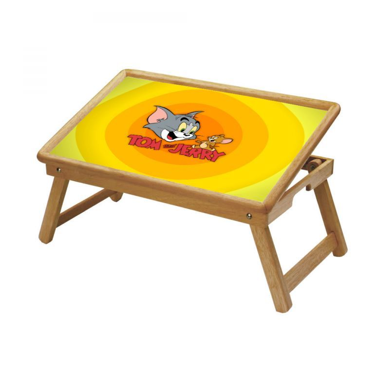Buy Tom And Jerry Multipurpose Foldable Wooden Study Table online