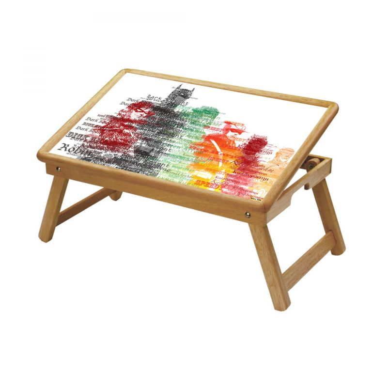 Buy Comic & Cartoons Multipurpose Foldable Wooden Study Table For Kids online