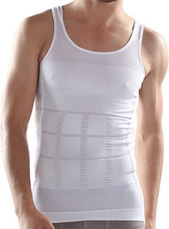 Buy Shopper52 Slimming Tummy Tucker Body Undershirt Men'S Vest online