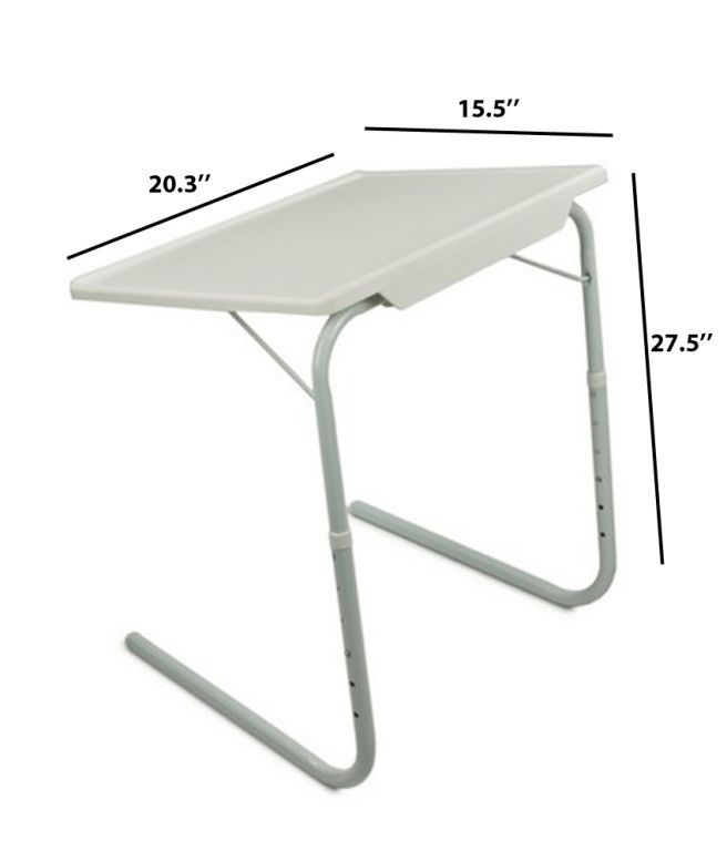 Buy Table Portable Table Adjustable Dinner Laptop Tray Folding D Table online
