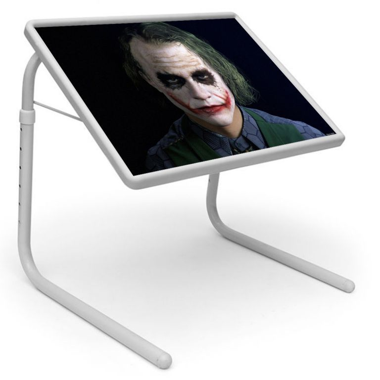 Buy Joker Table Designer Portable Adjustable Dinner Cum Laptop Tray Table 439 online