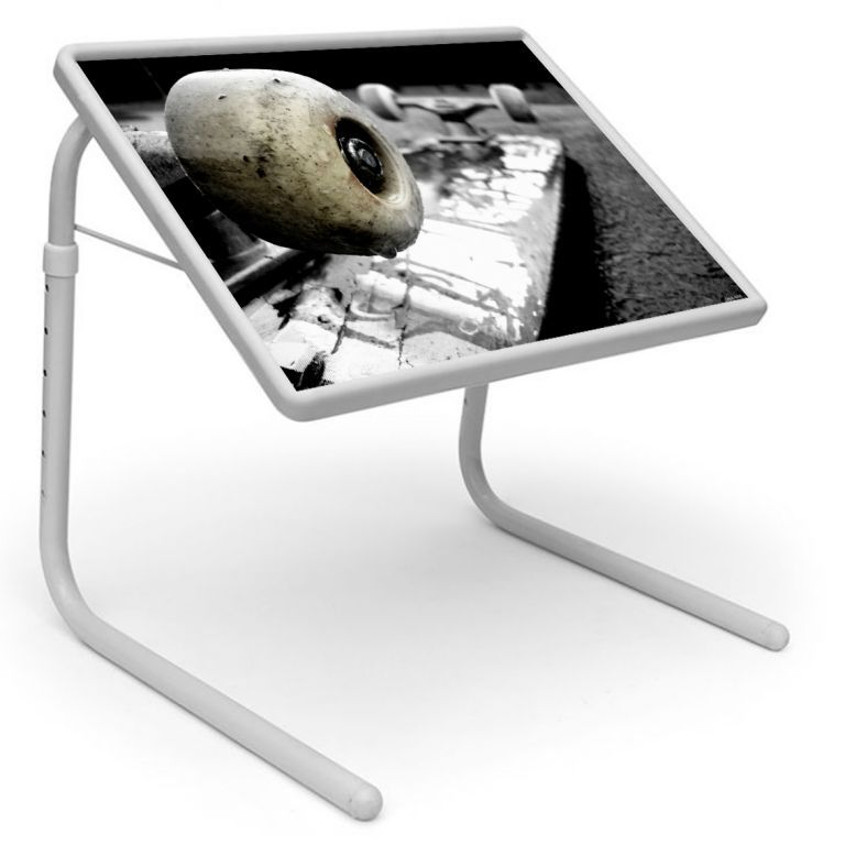 Buy Sports Table Designer Portable Adjustable Dinner Cum Laptop Tray Table 444 online