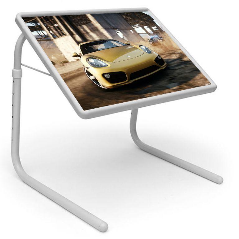 Buy Automobiles Table Designer Portable Adjustable Dinner Cum Laptop Tray Table 449 online