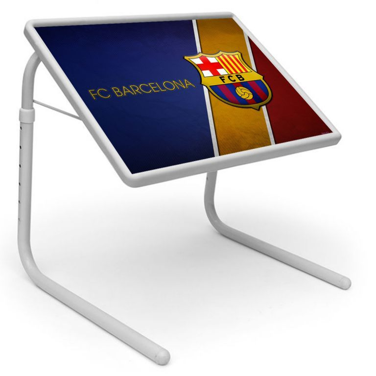 Buy Sports Table Designer Portable Adjustable Dinner Cum Laptop Tray Table online