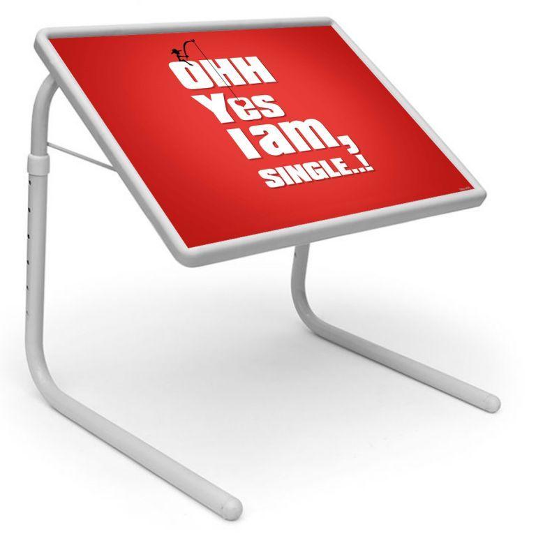 Buy Ethnic Table Designer Portable Adjustable Dinner Cum Laptop Tray Table online