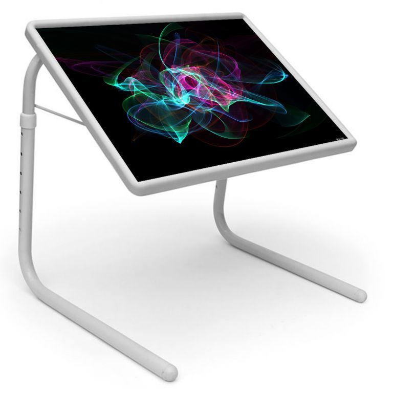 Buy Graffiti Table Designer Portable Adjustable Dinner Cum Laptop Tray Table 468 online
