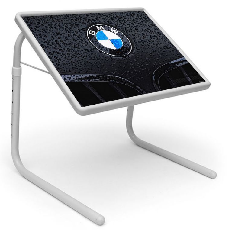 Buy Automobiles Table Designer Portable Adjustable Dinner Cum Laptop Tray Table 486 online