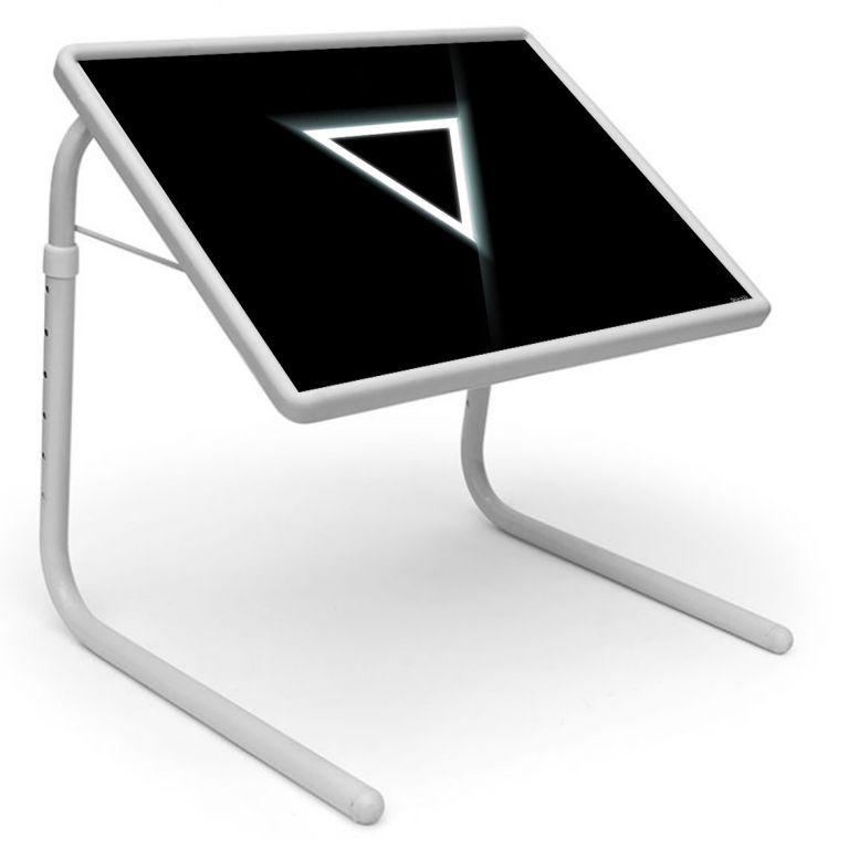 Buy Tech Table Designer Portable Adjustable Dinner Cum Laptop Tray Table 532 online