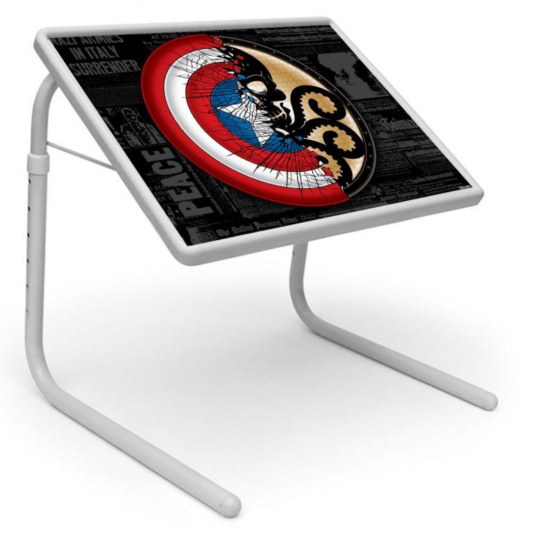 Buy Peace Table Designer Portable Adjustable Dinner Cum Laptop Tray Table online