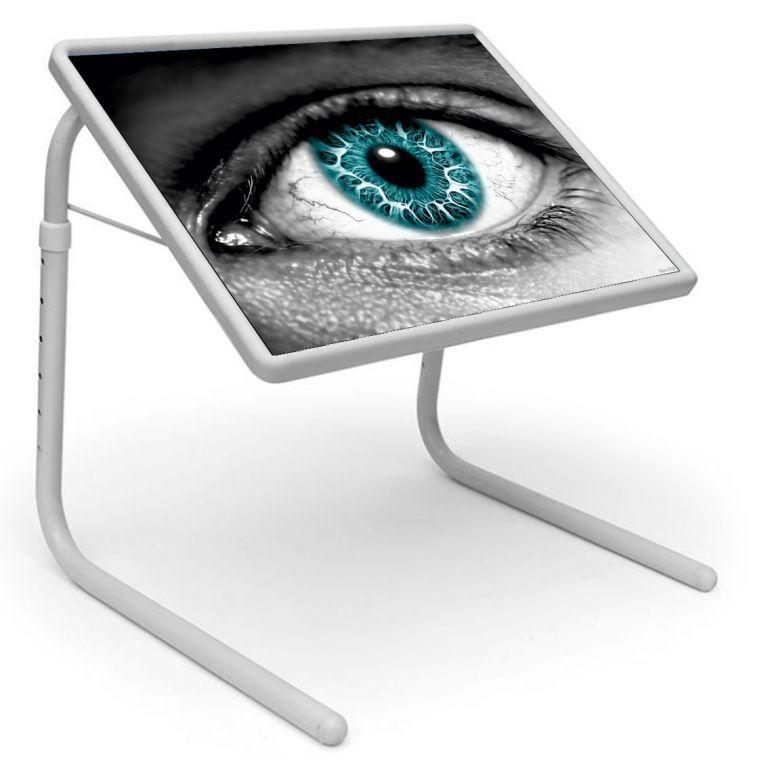 Buy Table Mate Designer Portable Adjustable Dinner Cum Laptop Tray (019) online