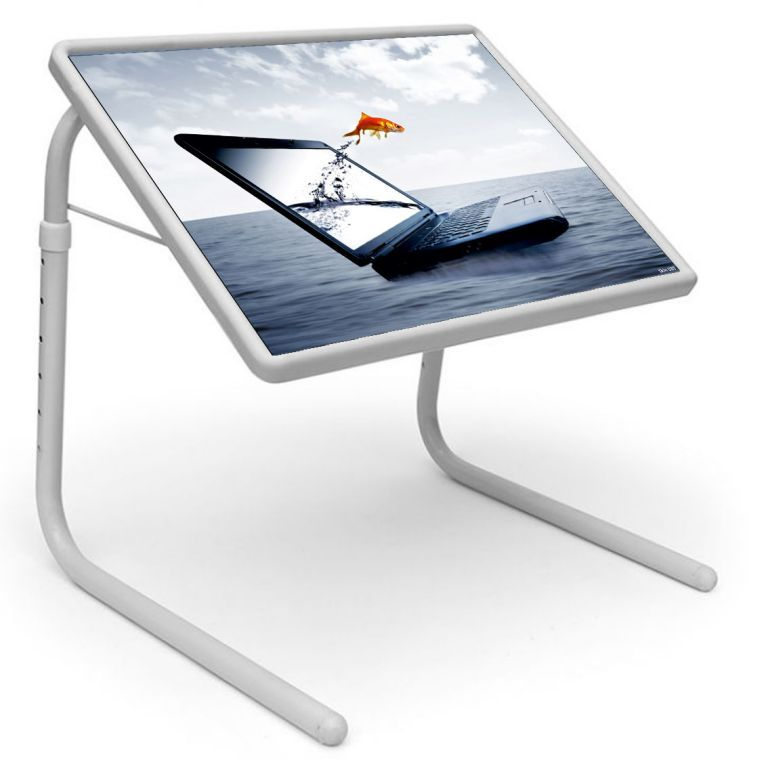 Buy Table Mate Designer Portable Adjustable Dinner Cum Laptop Tray Table (020) online