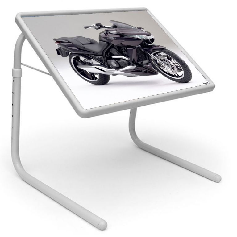 Buy Table Mate Designer Portable Adjustable Dinner Cum Laptop Tray Table (038) online