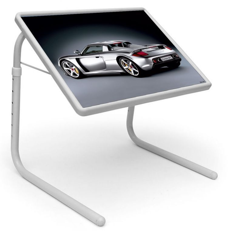 Buy Table Mate Designer Portable Adjustable Dinner Cum Laptop Tray Table (042) online